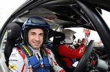 Derek McGeehan & Toyota F1's Timo Glock in the McGeehan Motorsport Corolla WRC