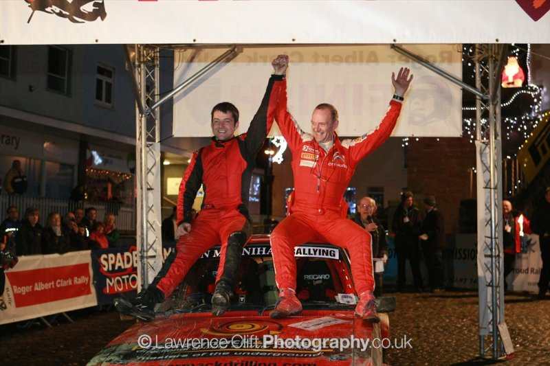 McCormack Wins RAC Rally