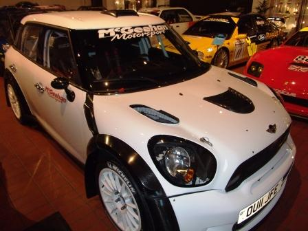 The McGeehan Motorsport John Cooper Works Mini World Rally Car